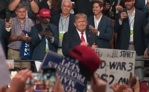 Donald Trump rally 7-31-18 tampa florida -2