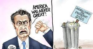 Trash Talk - A.F. Branco Political Cartoon