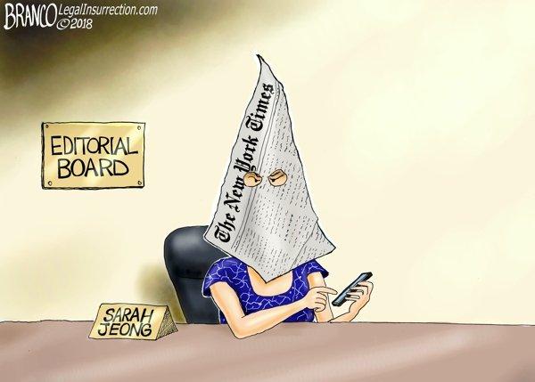 Unfit to Print - A.F. Branco political cartoon
