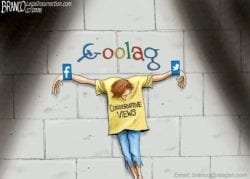 Goolag - A.F. Branco Cartoon