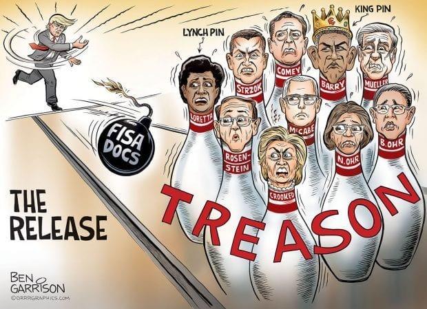 The Release - Ben Garrison Cartoon