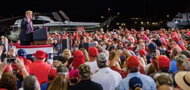 Donald Trump rally mesa az -13