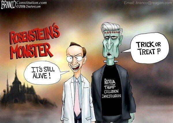 Photo of Rosenstein's Monster – A.F. Branco Cartoon