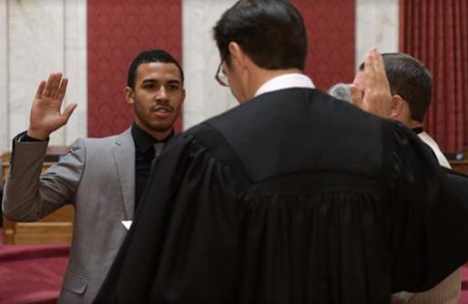 Photo of Meet The Nation's Youngest Black Legislator, Caleb Hanna