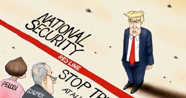 American Standoff - A F  Branco Cartoon - Conservative Daily News