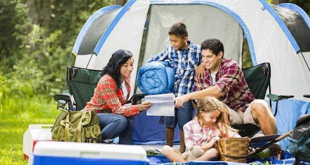 family camping camping tips