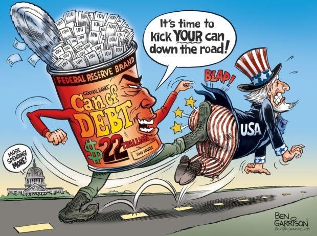 Photo of This Debt Kicks Can – Ben Garrison Cartoon