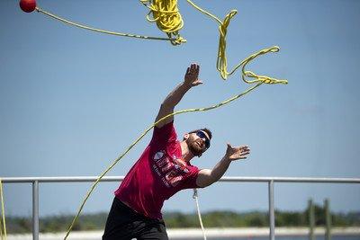 Photo of NASCAR's Dillon Tests Out Coast Guard's 'Big Jet Ski'