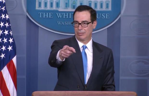 Photo of Watch: Treasury Secretary Mnuchin Holds Briefing on Iran Sanctions [video + transcript]