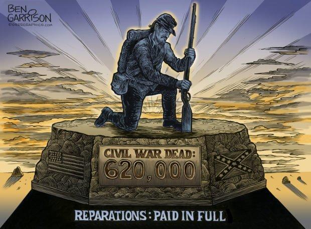 Reparations, Paid In Full – Grrr Graphics - Ben Garrison ...