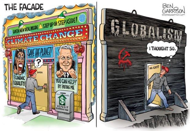 Photo of The Facade – Grrr Graphics – Ben Garrison Cartoon