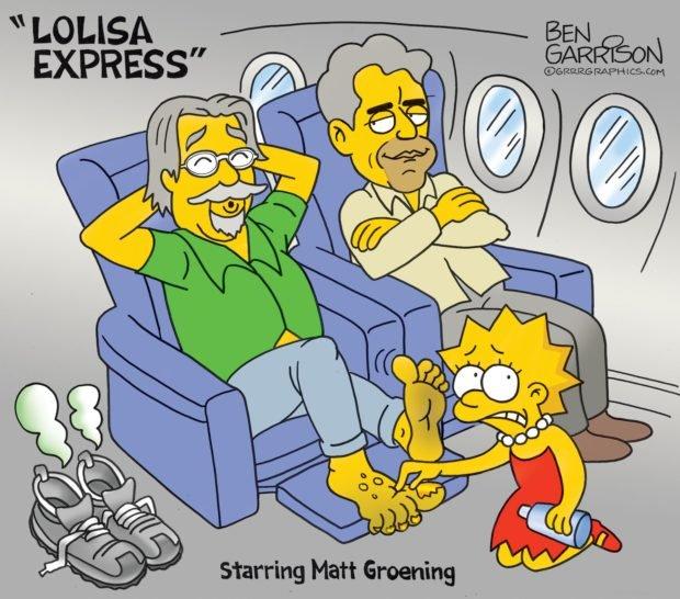Photo of Lolisa express – Grrr Graphics – Ben Garrison Cartoon