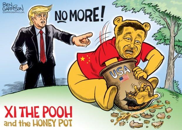 Photo of XI the POOH – Grrr Graphics – Ben Garrison Cartoon