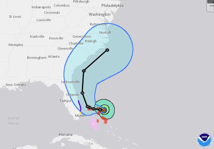 Photo of Five Killed In The Bahamas As Hurricane Dorian Makes Landfall  