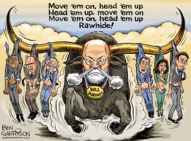 Photo of Bull Durham – Grrr Graphics – Ben Garrison Cartoon