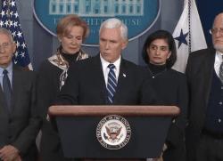 Coronavirus task force press briefing Mike Pence
