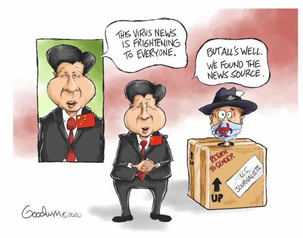 Photo of China's Cure – Al Goodwyn Cartoon