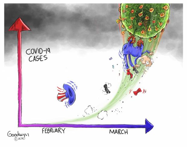 Photo of The Cure for Freedom – Al Goodwyn Cartoon