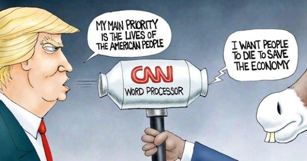 Photo of Fake-News-O-Matic – A.F. Branco Cartoon