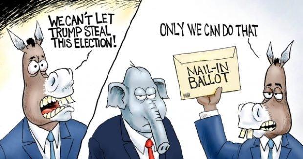 Photo of Mail Fraud – A.F. Branco Cartoon