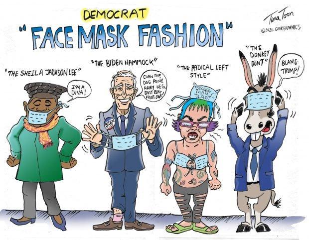 Photo of Face Mask Fashion Democrat Style – Tina Toon