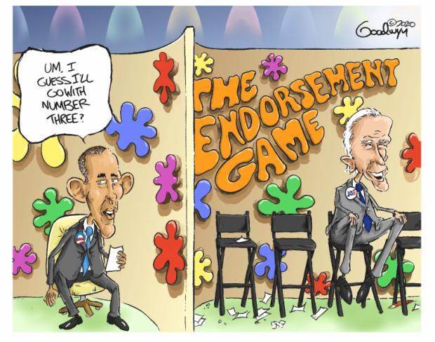 Photo of Hard Choices – Al Goodwyn Cartoon