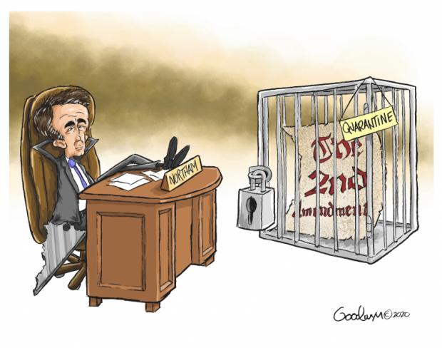 Photo of Total Lockdown – Al Goodwyn Cartoon