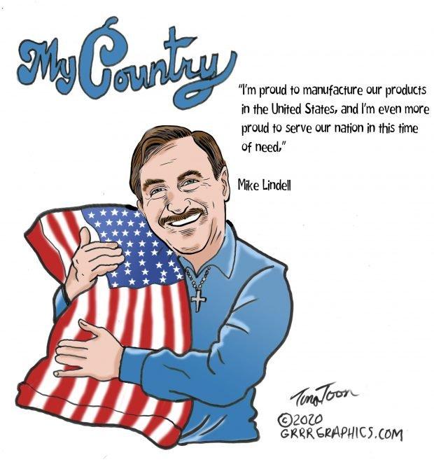 Photo of My Country – Ben Garrison Cartoon