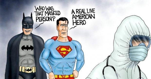 Photo of Hero Worship – A.F. Branco Cartoon