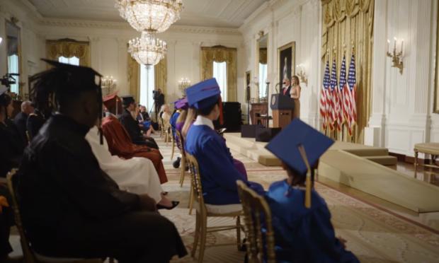 Photo of Watch: First Lady Melania Trump's Speech to 2020 Graduates
