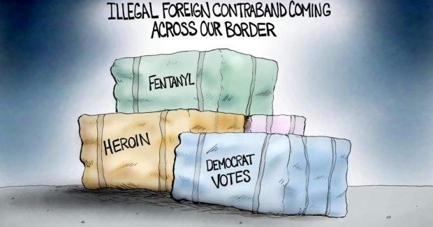 Photo of Illegal Contraband – A.F. Branco Cartoon