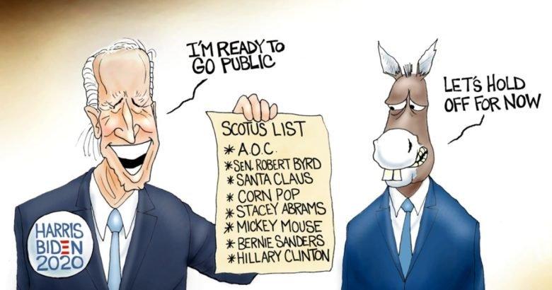 Photo of Swindler's List – A.F. Branco Cartoon