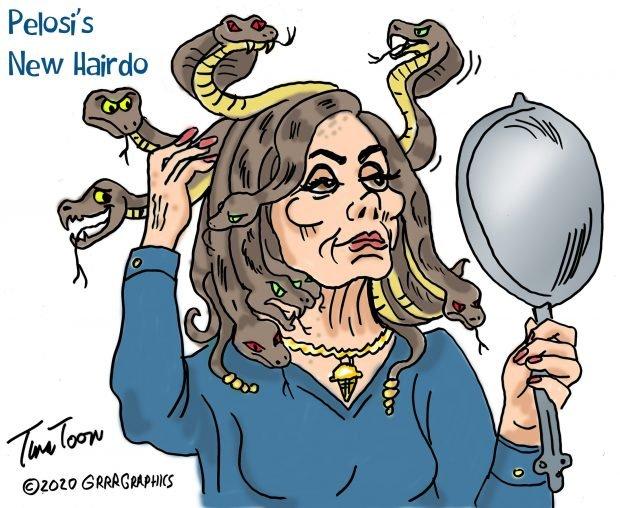 Photo of Pelosi's New Hairdo – Tina Toon