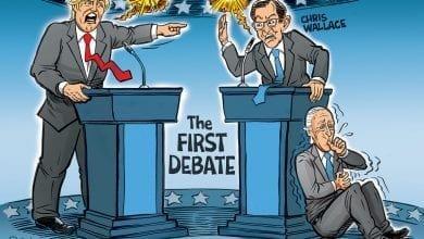 Photo of Trump Vs. Wallace First 2020 Presidential Debate – Ben Garrison Cartoon