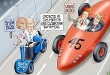 Photo of A Close Race – A.F. Branco Cartoon