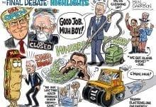 Photo of Final Debate Highlights With Joe Biden – Ben Garrison Cartoon