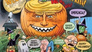 Photo of Happy Halloween 2020 – Ben Garrison Cartoon