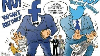 Photo of Biden's Bodyguards – Ben Garrison Cartoon