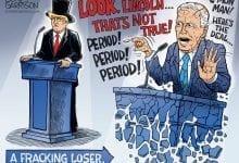 Photo of Trump Vs. Biden The Last Debate – Ben Garrison Cartoon