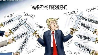 Photo of The Warrior – A.F. Branco Cartoon