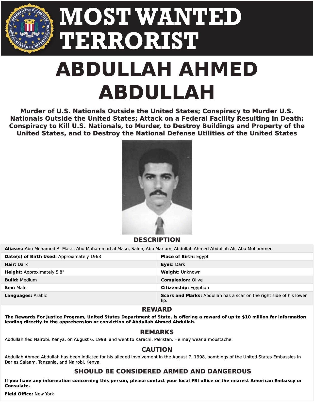 FBI Most Wanted/FBI