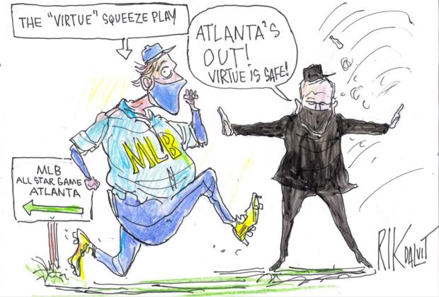 Virtue Squeeze Plan – Rik Dalvit Cartoon