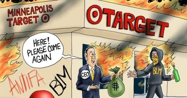Target Practice – A.F. Branco Cartoon