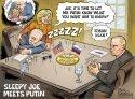 Biden Meets Putin – Ben Garrison Cartoon